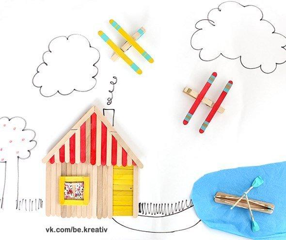 Идея для детского творчества (6 фото) - картинка