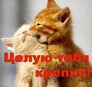 Целую крепко!