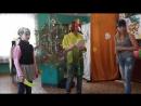 Новый год-2015, спектакль Новогодняя история.Пираты: Алёна Кузнецова, Лиза Макарова. Попугай Эврика: Юлия Журавлёва.