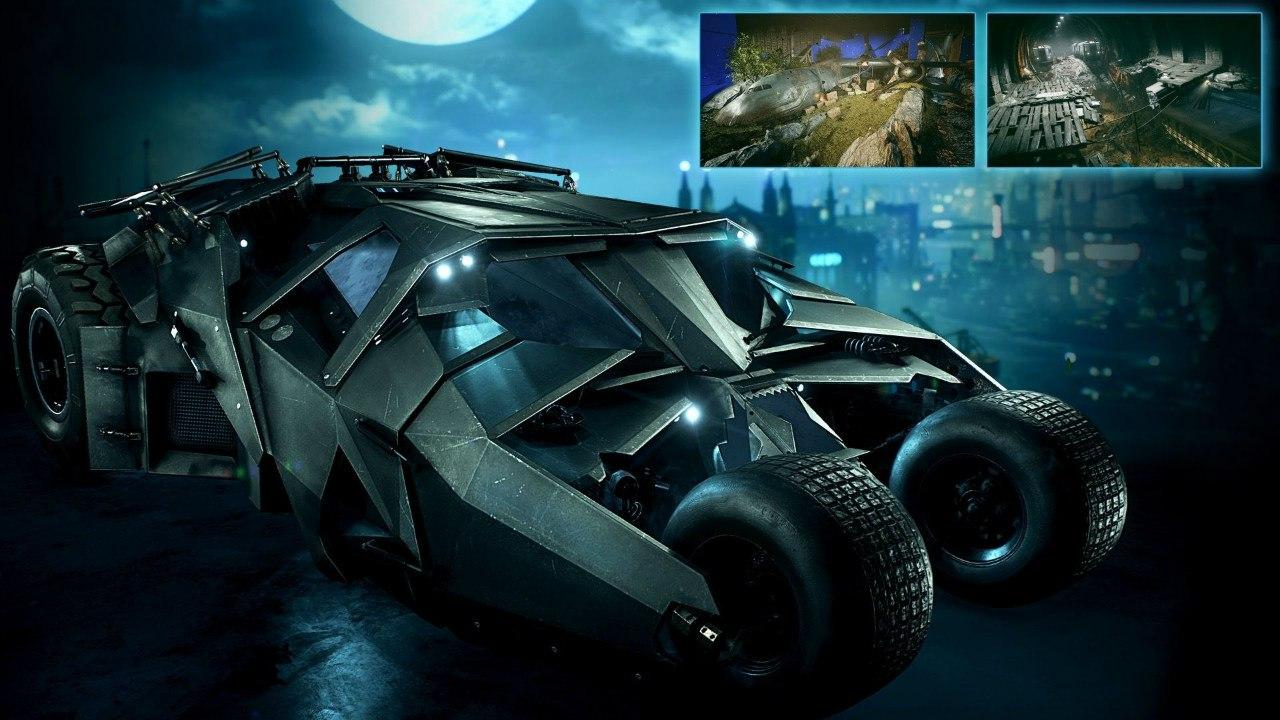 Batmobile dark knight wallpaper