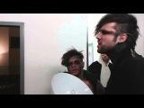Sushi und Kevin (Eskimo Callboy) - Backstage Warmup vor der Show