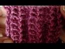 Болгарская резинка.Как научиться вязать. Уроки вязания для начинающих