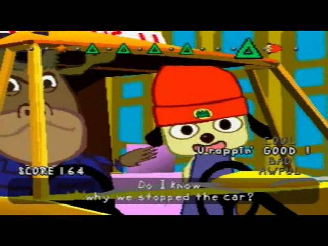 PaRappa the Rapper: Car Rap