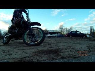 Pitbike drift / Питбайк Дрифт