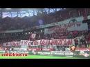 """Российские футбольные фанаты в поддержку братьев Сербов: """"Сербия - Косово!"""""""