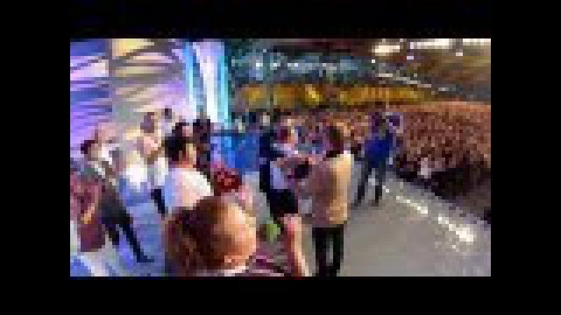КВН Юрмала 2013,Леонид Моргунов и Екатерина Утмелидзе, Предложение на сцене NEW