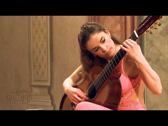 Ana Vidovic plays Recuerdos de la Alhambra by Francisco Tárrega クラシックギター