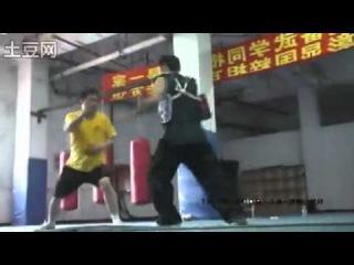 李天华老师八极拳技击演示 Tongbei Baji Application Demonstration