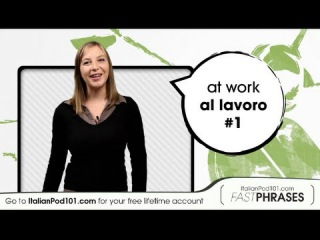 Learn Italian Fast Phrases - What is your job?