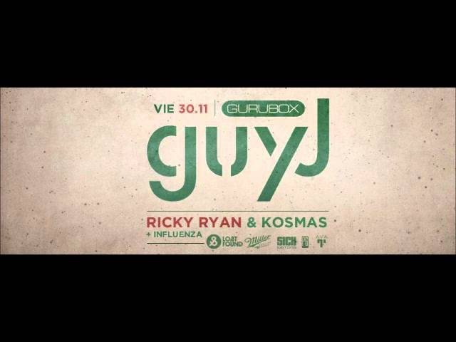 Guy J - Live at Gurubox - Buenos Aires