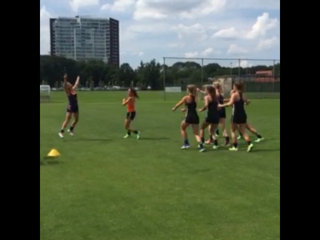 "Michelle van der Pols on Instagram: ""Back in training! fun teamblue levendbowlen cheer strike @ellen_hoog @joycesombroek @ginellazerbo @boswillemijn @marloeskeetels…"""