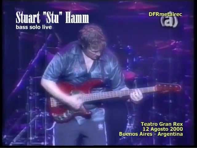 STUART HAMM bass solo live - Argentina 12-08-2000
