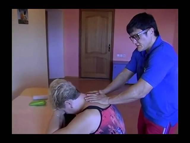 Массаж спины. Как убрать Холку (Massage)