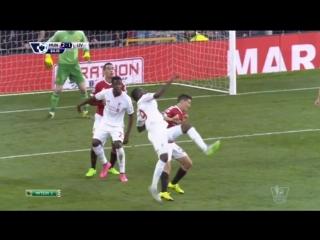 Супер гол в исполнении Кристиана Бентеке (12 сентября 2015 г, Чемпионат Англии)