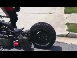 Çift Motorlu Turbo Dizel Motosiklet