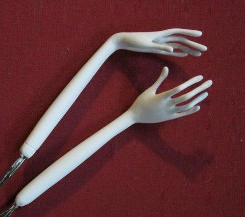 Как сделать кисти рук из полимерной глины