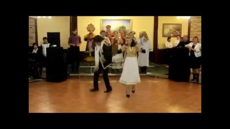 Таки и это я умею. 7-40 Еврейский танец. )