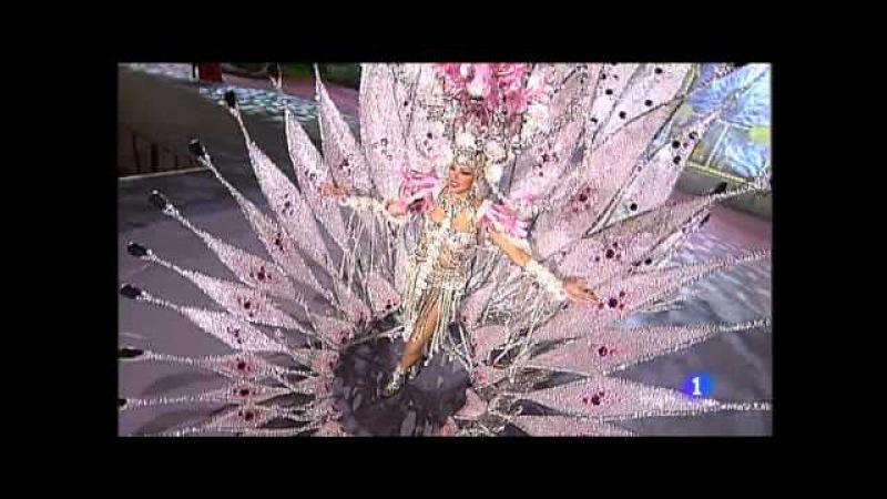 Laura Medina Desfile Reina del Carnaval de Las Palmas de Gran Canaria 2012