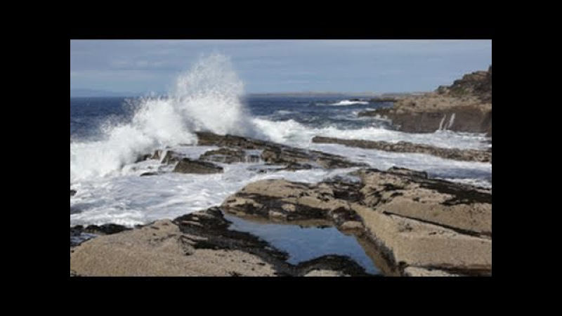 3D SEA RELAXATION-Soothing Sounds of the Sea W/O Music-Calming Ocean Waves-Sound of Wind