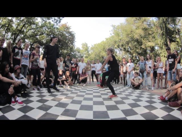 Zig Zague vs Veronichka    Stamina Battle 2015