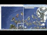 Осколки ДаАрии на гугл-картах 2009.Следы эти стёрли в 2012 г.