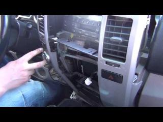 Установка адаптера Yatour на Toyota 4Runner 2003 2004 2005 2006 2007 2008 2009 USB SD AUX iPhone