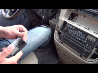 Установка адаптера Yatour на Honda Odyssey 1999 2000 2001 2002 2003 2004 USB SD AUX iPhone