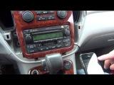 Установка адаптера Yatour на Toyota Highlander 2001 2002 2003 2004 2005 2006 2007 USB SD AUX iPhone