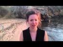 Lieselotte's Icebucket challenge Baikal