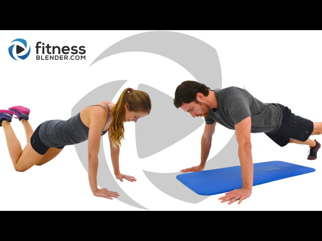 FitnessBlender - HIIT Cardio, Abs and Yoga Workout | Кардио-тренировка с акцентом на живот йога