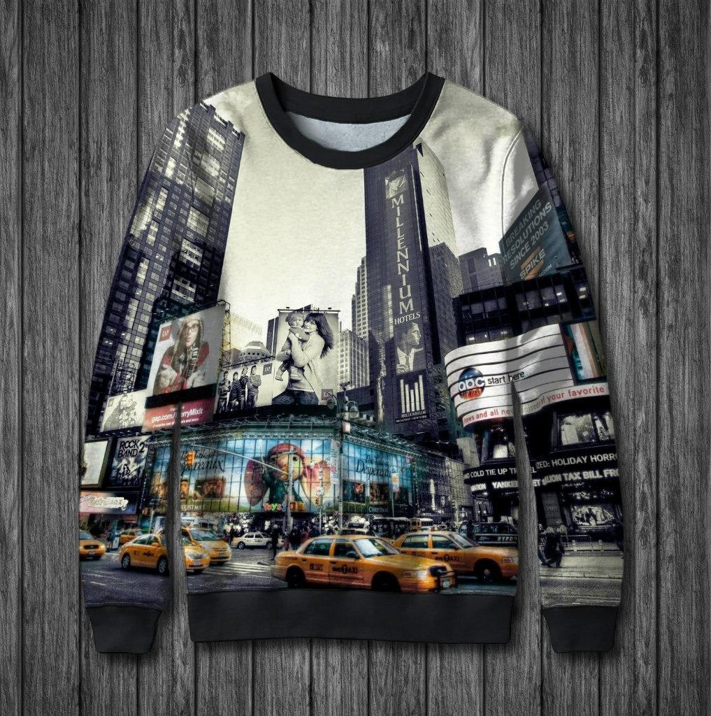 Свитшоты с городами