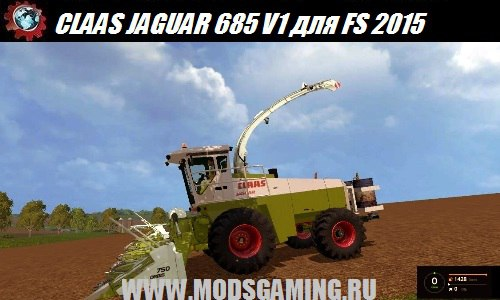 Farming Simulator 2015 download mod harvester CLAAS JAGUAR 685 V1