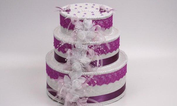 Свадебный сундучок для денег торт своими руками