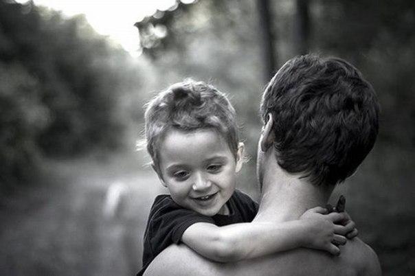 Папа и ребёнок