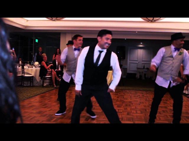 Best Groomsmen Dance Ever - Love Never Felt So Good (Gustavo Vargas)