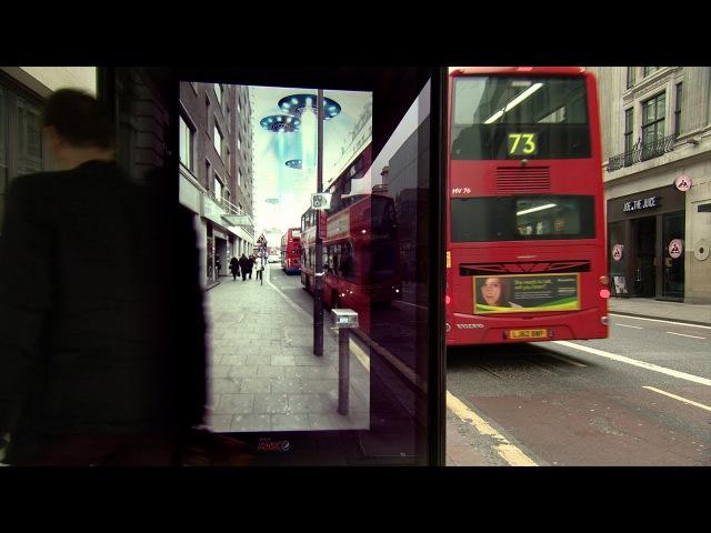 Unbelievable Bus Shelter | Pepsi Max. Unbelievable LiveForNow