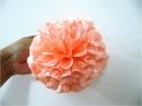 Moños para el cabello flores copos pon pon en telas
