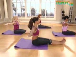 Уроки шейпинг и фитнеса (тренировка по системе