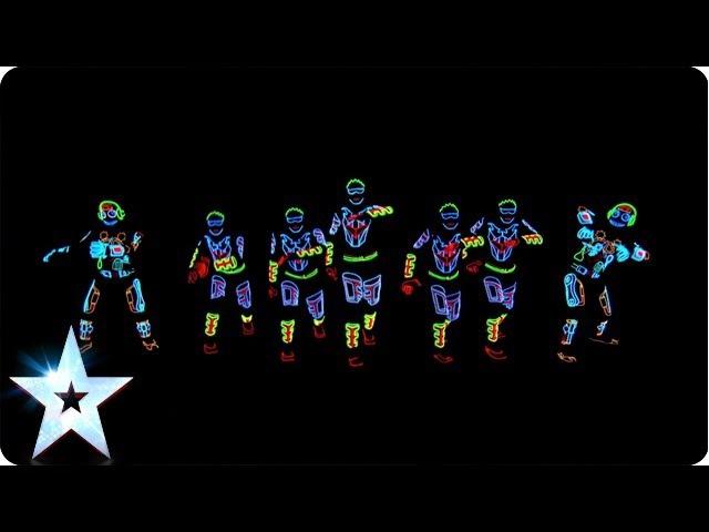 Electro Techno Dance Act - Light Balance - Britain's Got Talent 2014