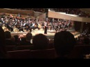 Lisa Batiashvili plays an encore for the people in the Ukraine at Philharmonie Berlin