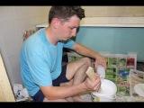 Ремонт чугунной ванны жидким акрилом