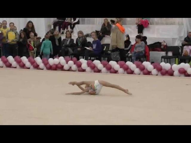 Кондратьева София (БП 15.11.2014, Художественная гимнастика Ровно