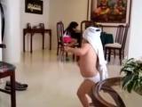 Дети приколы. Дети танцуют. Малышка Шакира