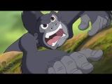Легенда о Тарзане. Безумие джунглей - 13 серия. Тарзан мультфильм