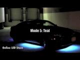 Светодиодная подсветка днища. +Режим активации звуком