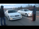 Toyota cresta 1jz-gte (china turbo) vs toyota chaser 1jz-gte (twin turbo)