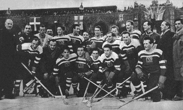 Хоккейная сборная Чехословакии
