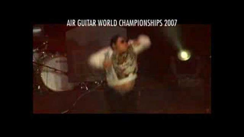 AIR GUITAR WORLD CHAMPIONSHIPS 2007 Ochi Dainoji Yosuke