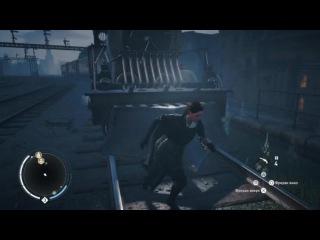 Assassins Creed Syndicate Баг - Поезд не может переехать Иви Фрай