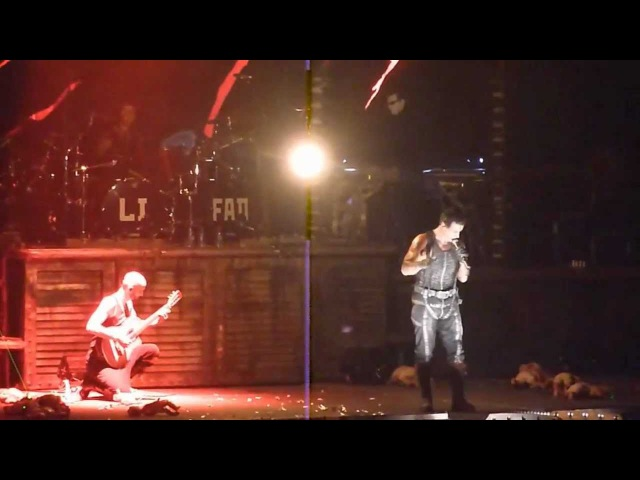 Rammstein - Frühling in Paris [11.12.2010 - New York] (multicam by popaduba) HD